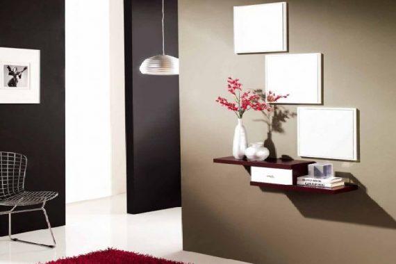 Recibidores modernos en Valencia Muebles con espejos modernos