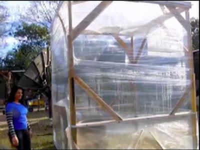 Costruire una serra istantanea con pallet e nastro da