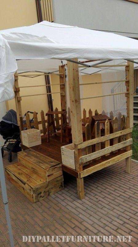 Stand per fiere costruiti con palletMobili con Pallet  Mobili con Pallet