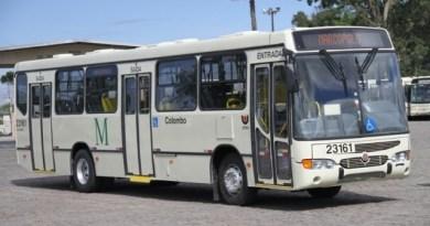 ônibus passe escolar colombo