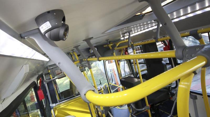 câmeras ônibus Guarda Municipal