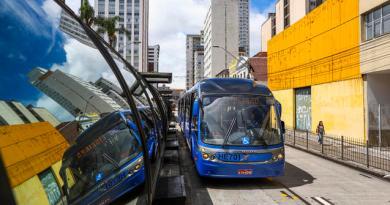 Ônibus em Curitiba Meia Maratona Internacional de Curitiba