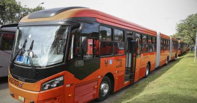 Novos ônibus do transporte coletivo para a cidade e para o Boqueirão