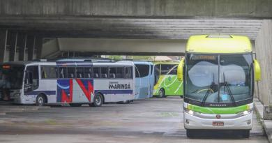 Ônibus na Rodoviária