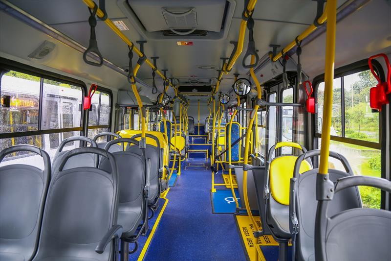 Interior do ônibus