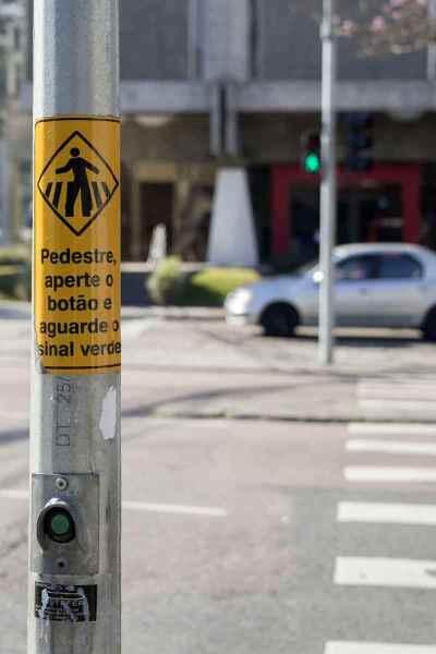 Botão pedestre