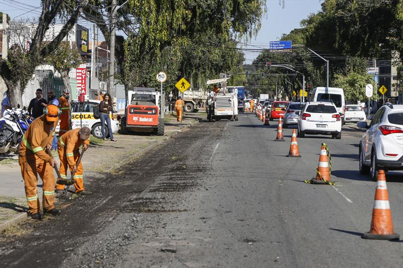 Rua Chile Novo asfalto