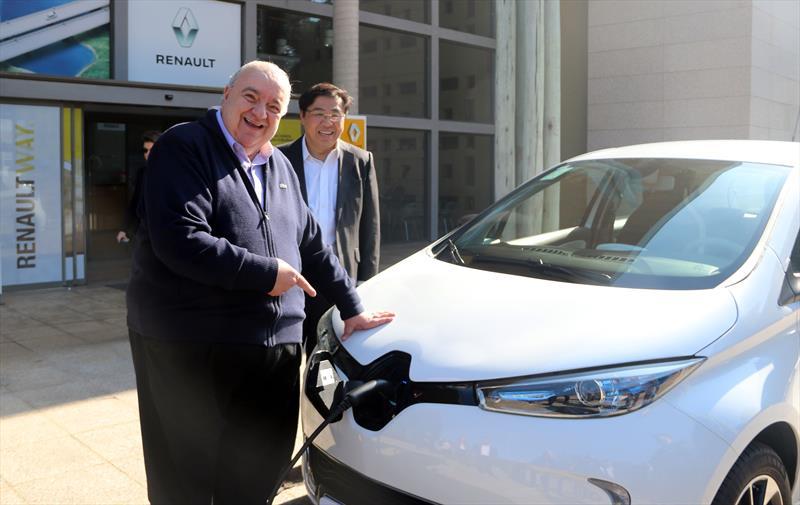 Carro elétrico da Renault