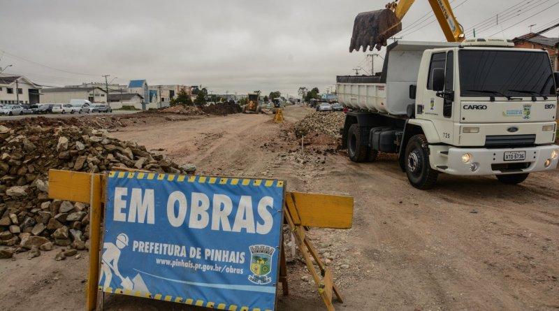 Obras Avenida Maringá