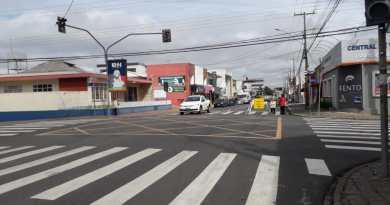 Rua Xavier da Silva Mudança de sentido no Centro