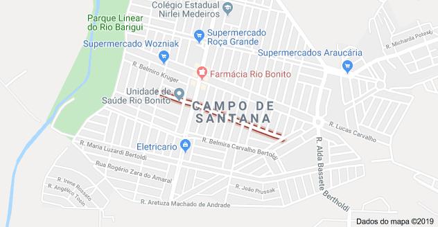 Rua Palmyra Crivellaro Bertolde