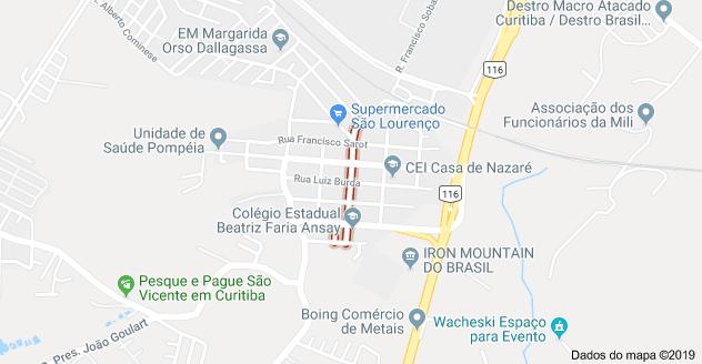 Tatuquara Rua Francisca Ferreira da Luz
