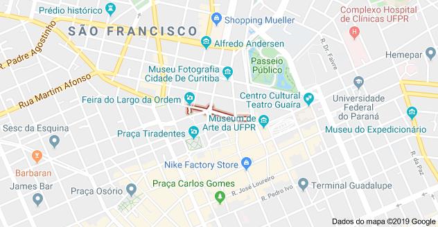 Rua São Francisco Curitiba