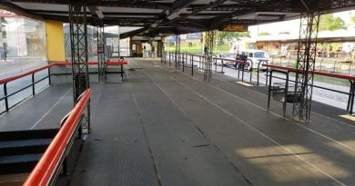 Terminal Capão Raso plataformas