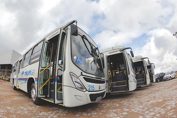 Triar Ônibus em Araucária Arvoredo Angélica