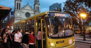 Linha de ônibus especial