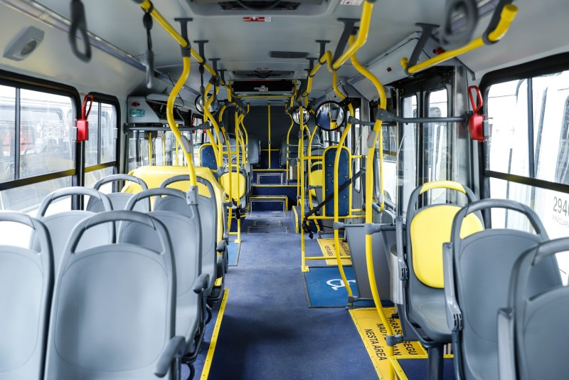 Novos ônibus Interior