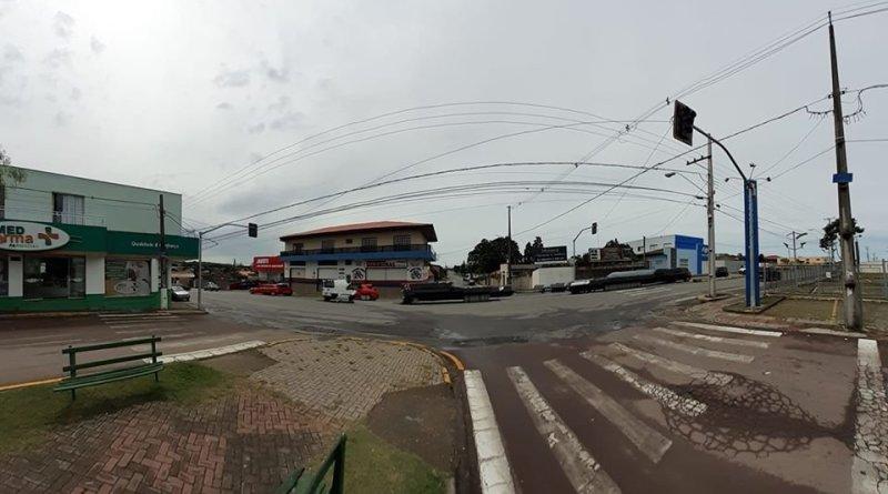 Semáforo na Lapa Aloísio Leoni