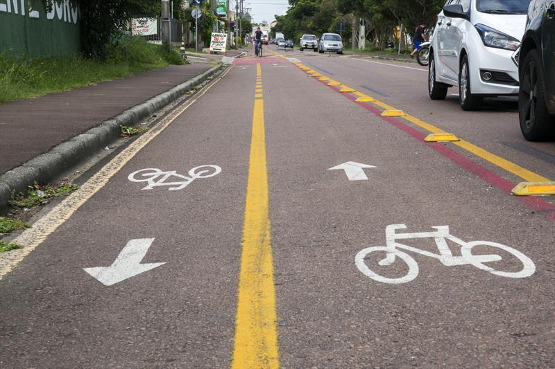 Bicicleta em Curitiba