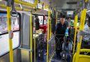 Duas catracas novos ônibus