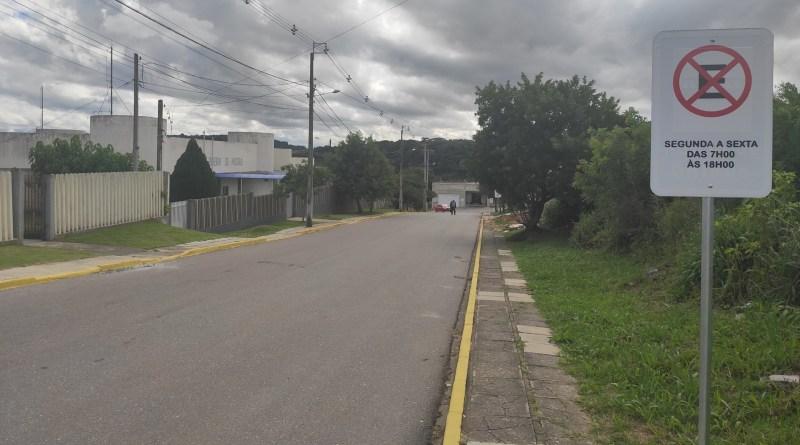 Rua da Independência em Quitandinha
