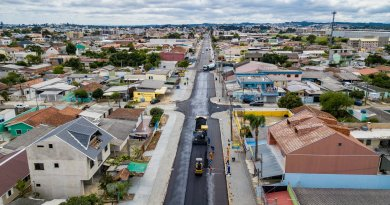 Obras Rio Paranapanema Cima
