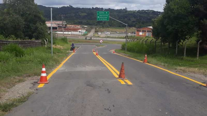 Sinalização Campo Largo