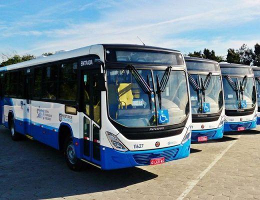 Ônibus em Floripa Integração