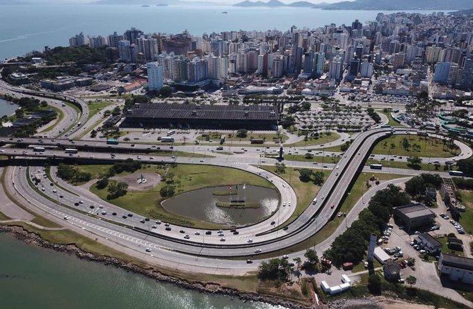 Florianópolis do alto Câmeras de monitoramento