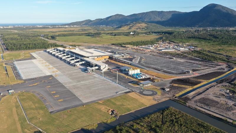 Novo aeroporto panorama