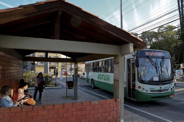 Ônibus em Palhoça