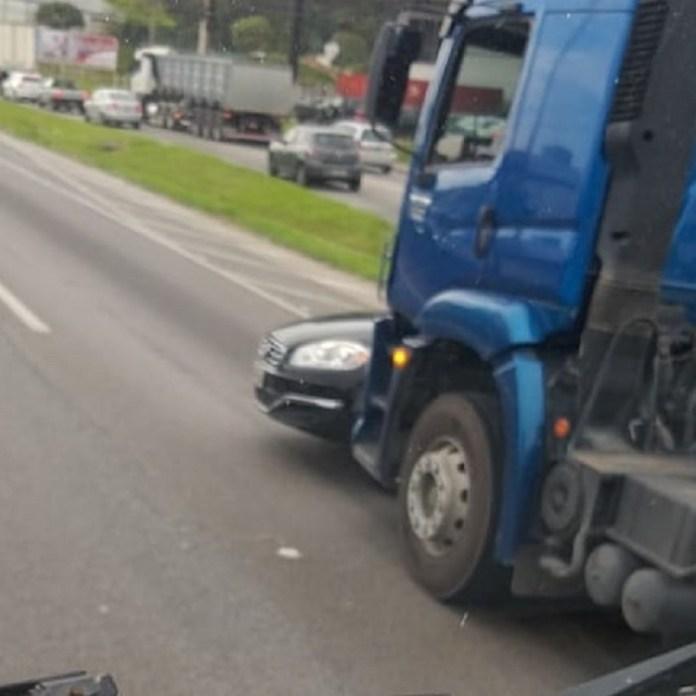Carro Caminhão Azul BR-101