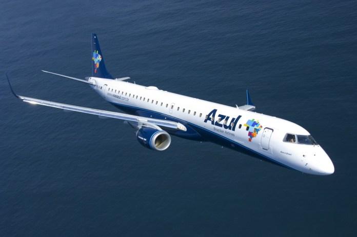 Embraer Azul Avião