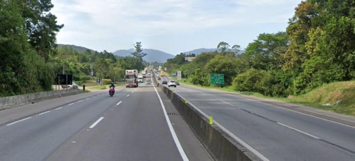 BR-101 em Biguaçu
