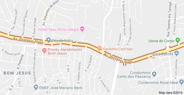 Avenida Protásio Alves