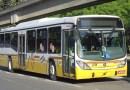 Faixa exclusiva ônibus