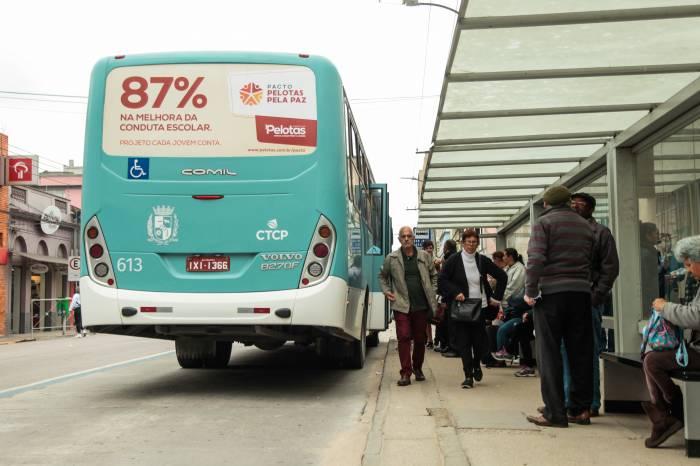 Ônibus em Pelotas