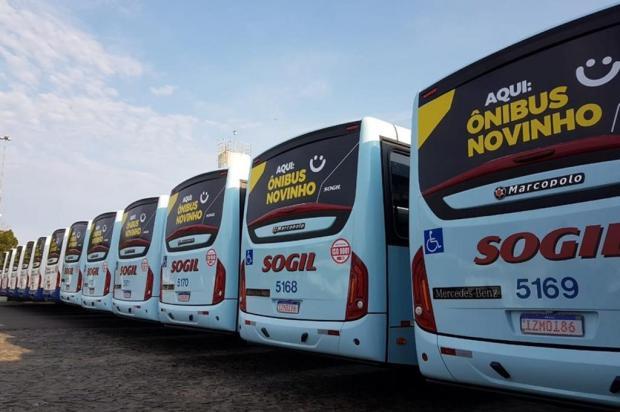 Novos ônibus Sogil