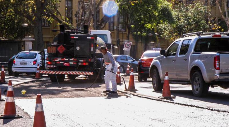 Avenida Loureiro da Silva Obras
