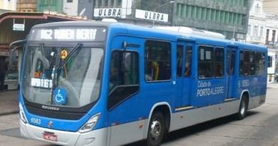 Ônibus em Porto Alegre Roubos