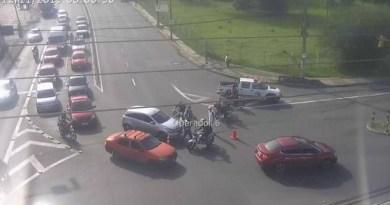 Avenida Protásio Alves Acidente