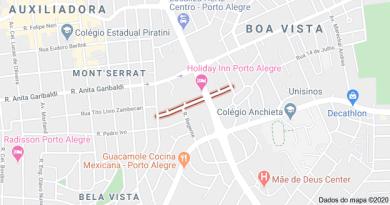 Rua Furriel Luiz Antônio de Vargas