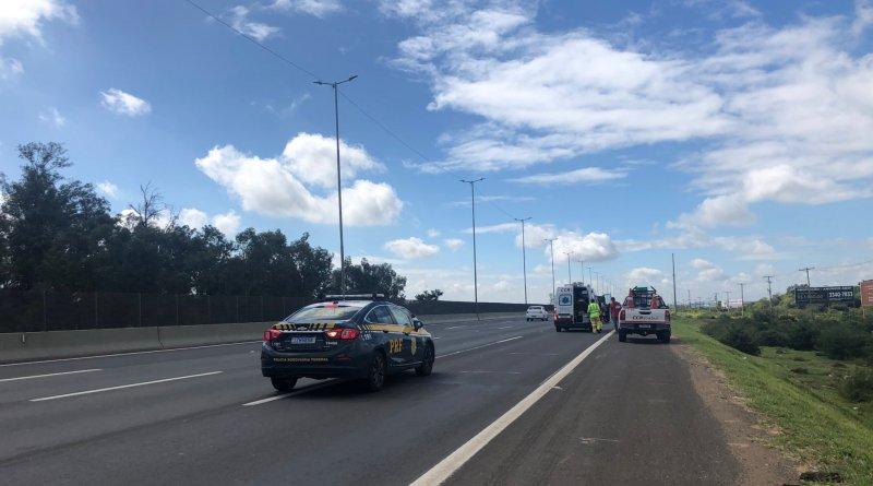 Freeway Caminhão Acidente