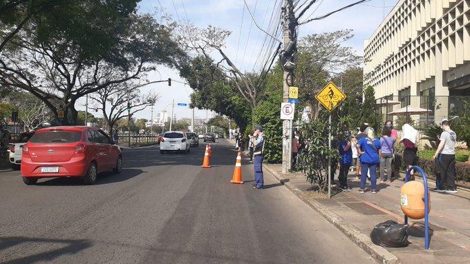 Avenida Ipiranga Protesto