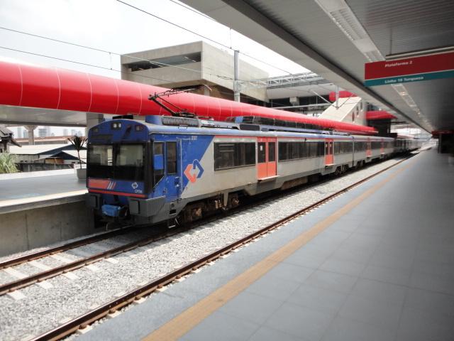 Estação Tamanduateí da Linha 10-Turquesa