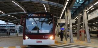 Carnaval locais de votação frota de ônibus Virada Cultural SP Terminal Pinheiros fuvest 2018