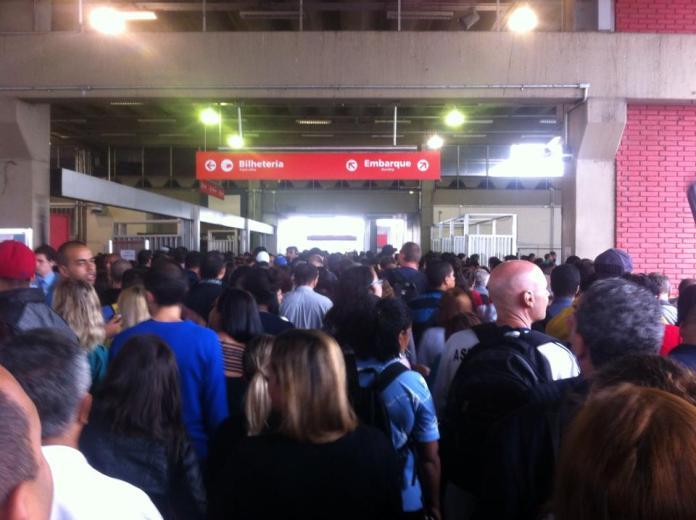 Estação Osasco (Foto: Hernandes de Souza)