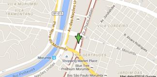 Shopping Morumbi Avenida Doutor Chucri Zaidan jardim ingá