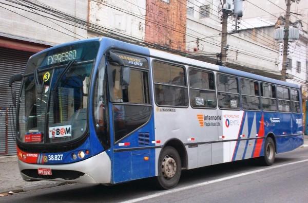 Ônibus da EMTU ABC Paulista Linhas intermunicipais