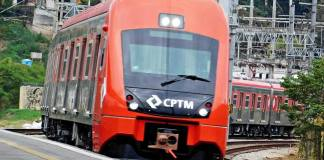 Trem série 8500 CPTM Autodesk